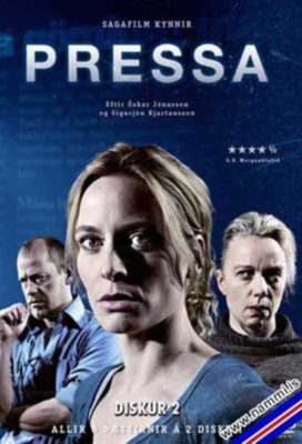 Pressa (The Press aka Cover Story) - Season 1 - icelandic Series - SD Streaming with English Subtitles