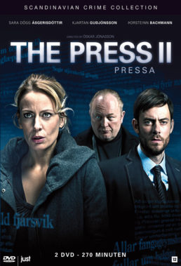 Pressa (The Press aka Cover Story) - Season 2 - icelandic Series - SD Streaming with English Subtitles