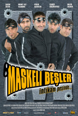 Maskeli Beşler İntikam Peşinde (The Masked Gang Revenge) (2005) - Turkish Movie - HD Streaming with English Subtitles