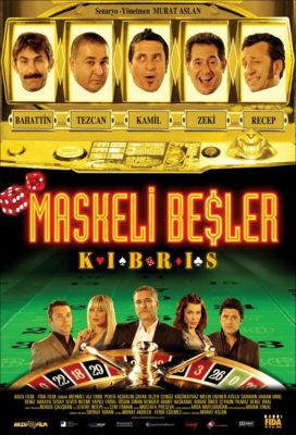 Maskeli Beşler Kıbrıs Filmi Afişi