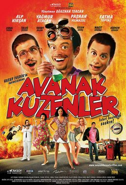 Avanak Kuzenler (Loser Cousins) (2008) - Turkish Movie - HD Streaming with English Subtitles