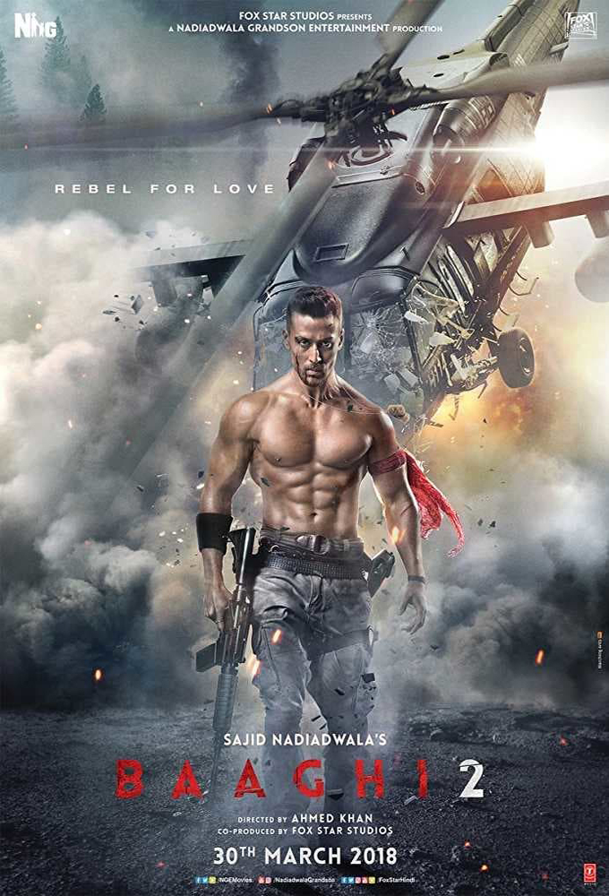 Baaghi 2 (2018) - Indian Movie - HD Streaming with English Subtitles